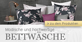 Moderne Mako-Satin Bettwaesche